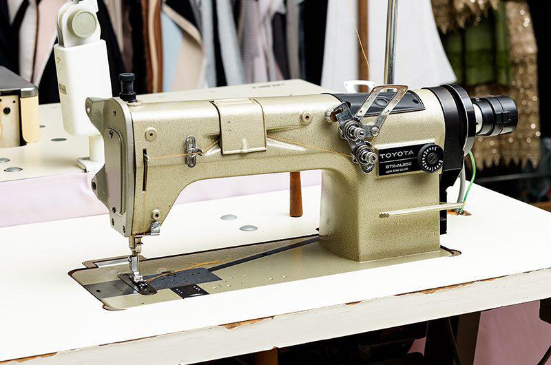 二重環縫いミシン